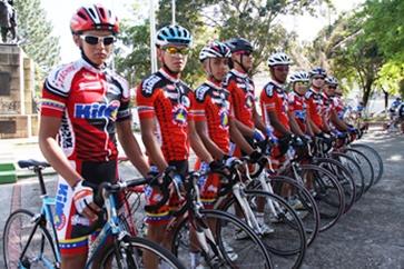 Juveniles de Lotería del Táchira a Nacionales de Ciclismo