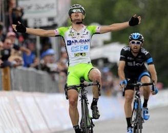 El Italiano Enrico Battaglin ganó la etapa 14 del Giro de Italia/ Clasificaciones