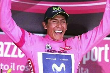 Nairo Quintana, gana la etapa 16 y es el nuevo líder del Giro de Italia/ Resultados Completos