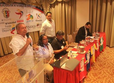 Este jueves se realizo el Congresillo tecnico de la Vuelta a Venezuela