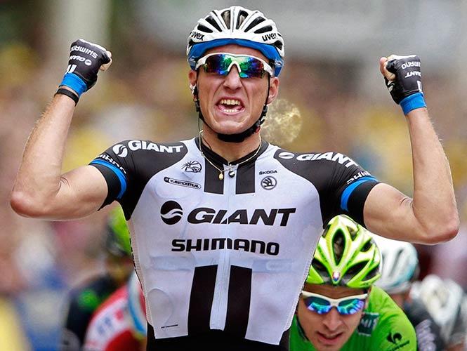 Marcel Kittel gana tercera etapa del Tour de Francia; Nibali sigue líder