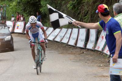 Carlos Galviz dio primera victoria al Androni Giocattoli/ Jonathan Salinas sigue Líder de Vuelta a Venezuela/ Resultados Oficiales