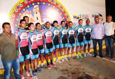 Equipo Gobernación -Lotería del Zulia con digna actuación la 51ra. Vuelta Ciclística a Venezuela