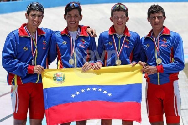 Ciclistas criollos se alzaron con el oro en Juegos Deportivos Escolares Cuba 2014