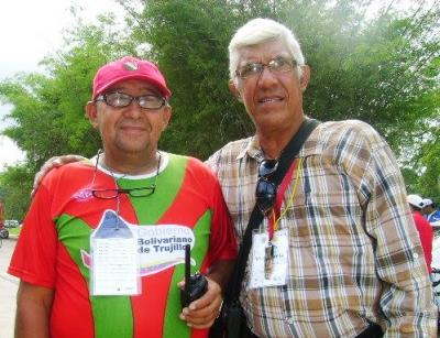 Arsenio Navas Director técnico del equipo Gobernación Bolivaraina del Estado Trujillo, desmiente versión sobre su desaparicion