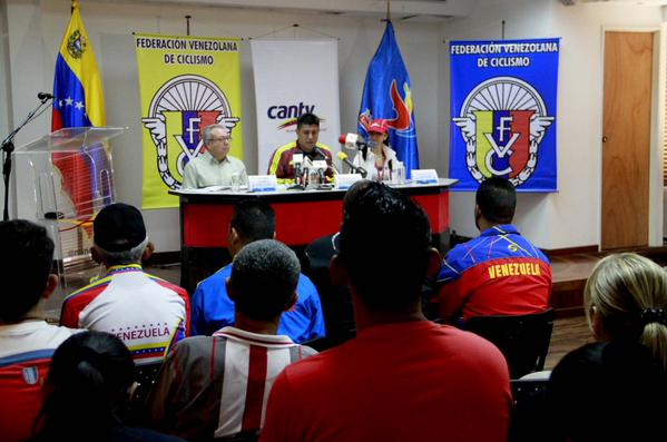 La FVC Presento Oficilmente en Caracas en rueda de prensa la Vuelta ciclista a Venezuela