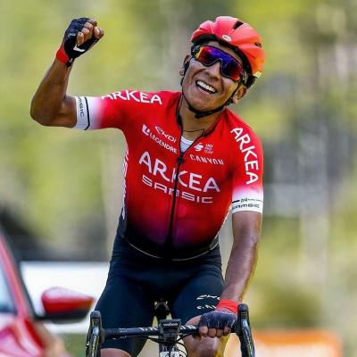 Nairo Quintana  quiere ganar en el Tour  la cima de Alpe d' Huez.