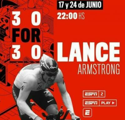 Hoy se estrena la 2da parte de '30 por 30',  documental de ESPN sobre la vida de Lance Armstrong.