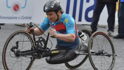 Alex Zanardi sigue muy grave tras el accidente en exhibición de ciclismo paralímpico