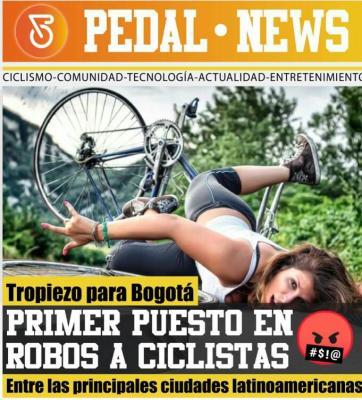 Bogotá lidera el Hurto de bicicletas en Latinoamerica