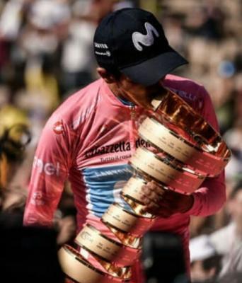 Organizadores del Giro implementar pulseras para mantener el distanciamiento social de los espectadores.