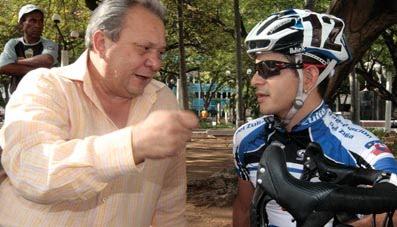 De luto el ciclismo Venezolano murió por Covid_19 Hernán Alemán  exdirector técnico de Feveciclismo