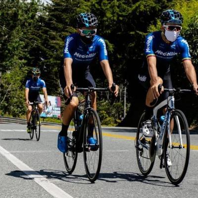 El Team Medellín de Colombia confirma su participación en la Vuelta ciclista a Venezuela
