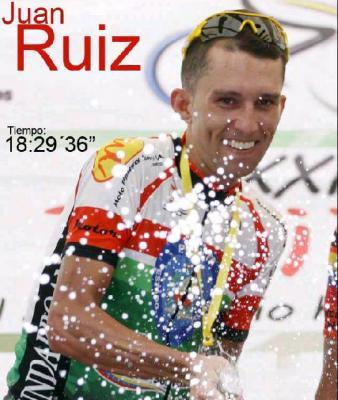 Ciclista Trujillano Juan Ruiz fue arrollado por una moto
