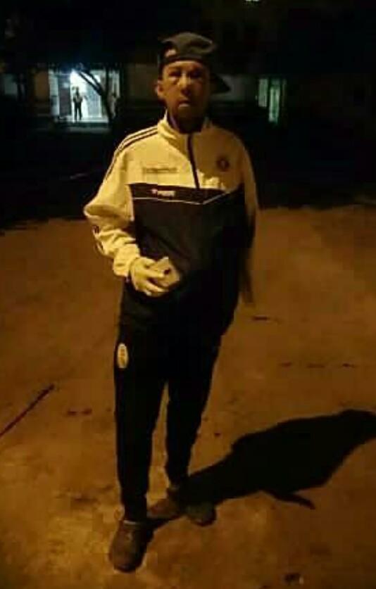 Ciclista Juan Ruiz víajo a Barquisimeto para verificar las fracturas en el tabique nasal.