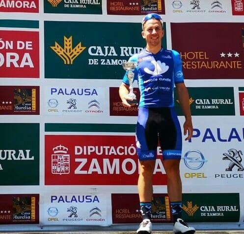 Alex  Ruiz gana al sprint  la segunda etapa  de la Vuelta a  Zamora