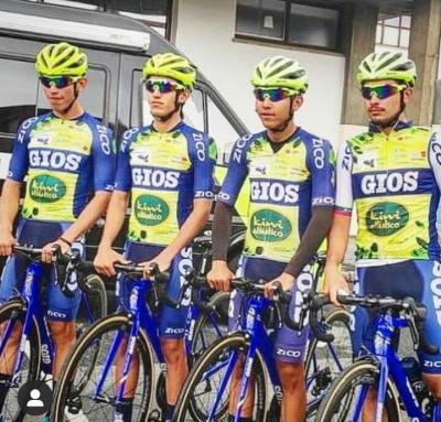 Cuatro ciclistas Venezolanos correrán este domingo 2 de Agosto  el Circuito Getxo con el equipo Continental Gios