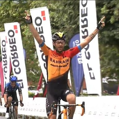 Italiano Caruso gana el Circuito de Getxo