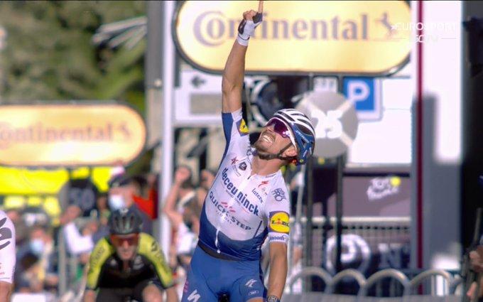 Julian Alaphilippe ganador de la etapa 2 del Tour de France 2020