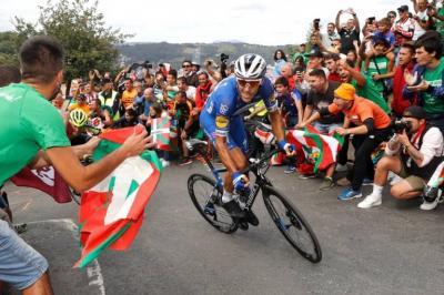 Los finales en alto de la Vuelta a España no tendrán público