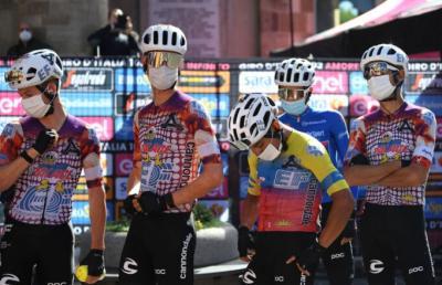 EF Pro Cycling pide que se detenga el Giro de Italia 2020