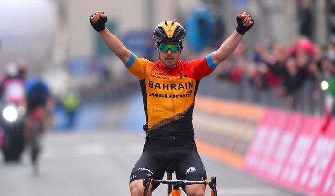 Jan Tratnik gana la etapa 16 del Giro de Italia y Joao Almeida sigue líder