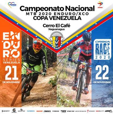El estado Carabobo sede del Campeonato Nacional de Ciclismo MTB Enduro / XCO Copa Venezuela