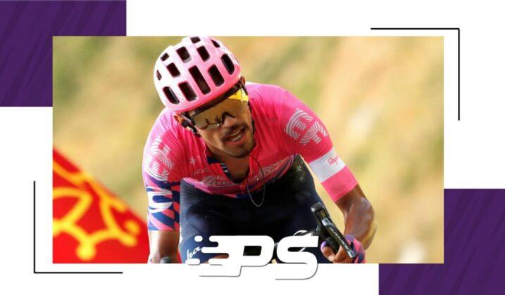 Colombiano Daniel Felipe Martínez  abandono La Vuelta a España
