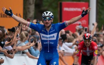 Sam Bennett gana al esprint la 4ta etapa de la Vuelta a España y Roglic sigue de líder