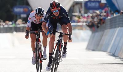 Británico Tao Geoghegan Hart (Ineos) ganó la penúltima etapa del Giro de Italia y el  australiano Jai Hindley (Sunweb) es el nuevo lider