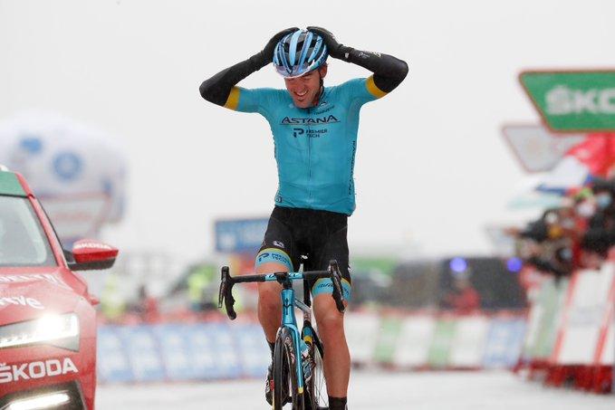 Ion Izagirre ganó la 6ta etapa de la Vuelta a España y Richard Carapaz es el nuevo lider