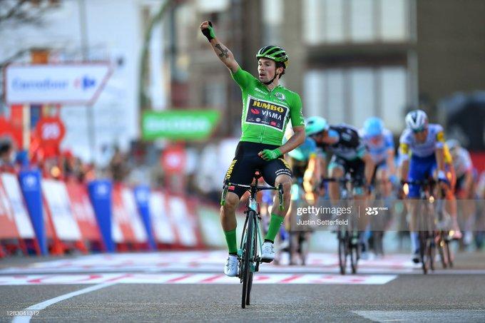 Primoz Roglic ganó la  etapa 10 de la Vuelta a España y recupera el liderato