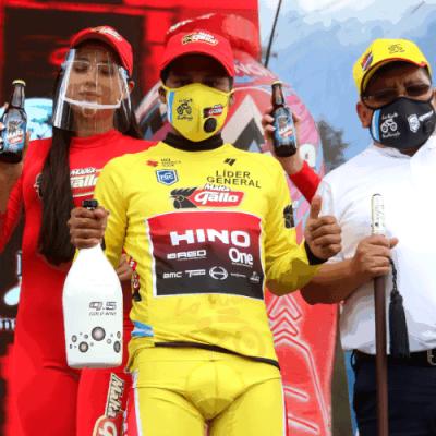 Ciclista indígena maya Mardoqueo Vásquez gana la Vuelta a Guatemala