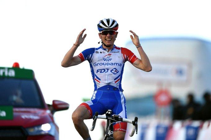 Francés David Gaudu ganó la etapa 17 de la Vuelta a España y Roglic es virtual Campeon
