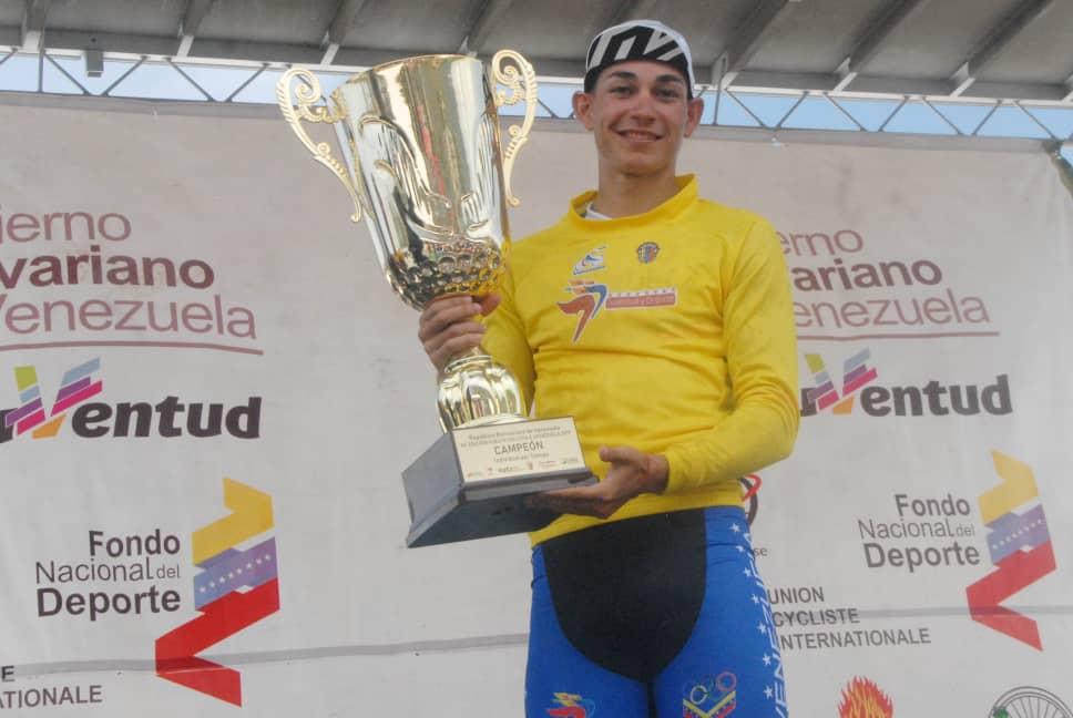 Orluis Aular será la sensación del Campeonato Nacional de Ruta y la 57 Edición de la Vuelta Ciclista a Venezuela