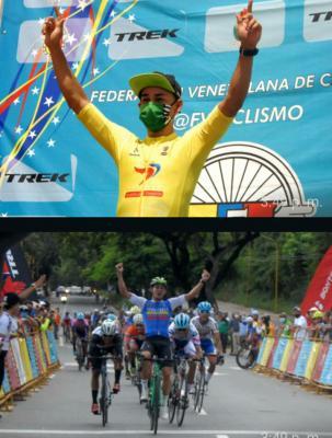 Orluis Aular triunfo en la 1ra etapa de la 57 Edición de la Vuelta Ciclista a Venezuela