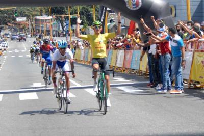 Orluis Aular Bicampeón de la Vuelta Ciclista a Venezuela