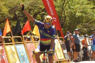 """Tibaldo Martínez gano en sensacional embalaje a Wilmen """"Mantecal"""" Bravo para cerrar el Campeonato Nacional de Ciclismo de Ruta categoría Máster"""