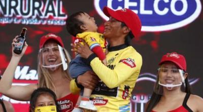 Oficial: Mardoqueo Vásquez es el campeón de la  60 Vuelta a Guatemala tras descartar temas de dopaje