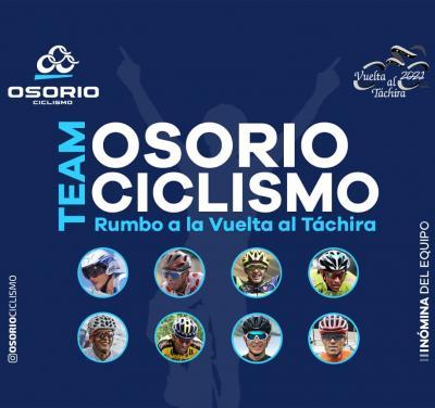 Team Osorio Ciclismo debutará en Vuelta al Táchira 2021