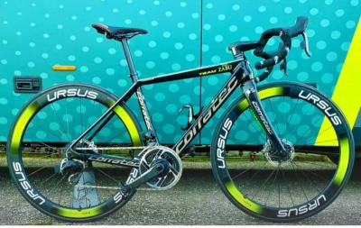 Vini Zabù, presentó las nuevas bicicletas Corratec para 2021