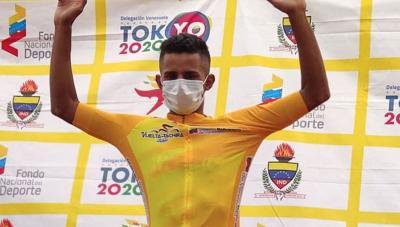 Roniel Campos le ganó el mano a mano al Español Oscar Sevilla y se llevó la 2da etapa de la Vuelta al Tachira y es el nuevo lider