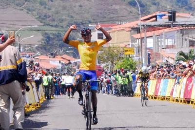 Roniel Campos repite en La Grita y se afianza en el líderato de la Vuelta al Táchira 2021