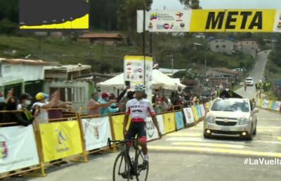 Anderson Paredes del Team Best PC ganó la sexta etapa de la Vuelta al Táchira 2021/ Roniel Campos sigue lider