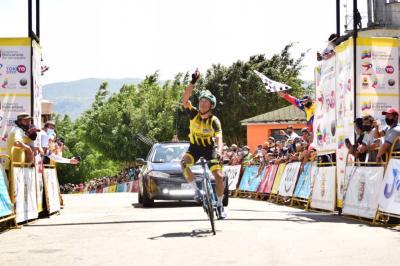 José Alarcón gana la séptima etapa de la Vuelta al Táchira 2021 en el cerro El Cristo Cristo y Roniel Campos es Virtual Campeon