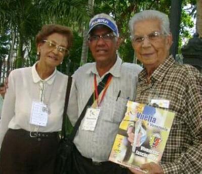 Don Héctor Alvarado Gloria del Ciclismo Venezolano cumple 100 años de Vida