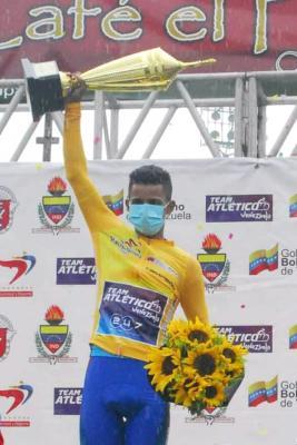 Roniel Campos ciclista Record