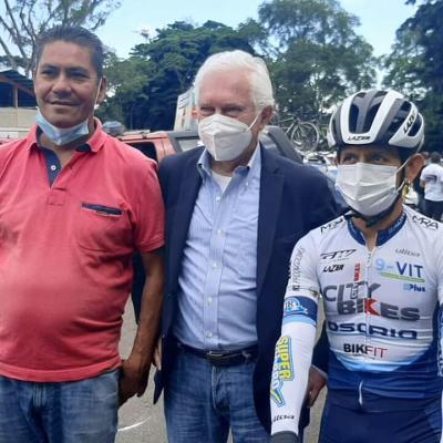 Leonardo Sierra y José Rujano dos Merideños que conquistaron a Europa se reencuentran con su mentor Gianni Savio