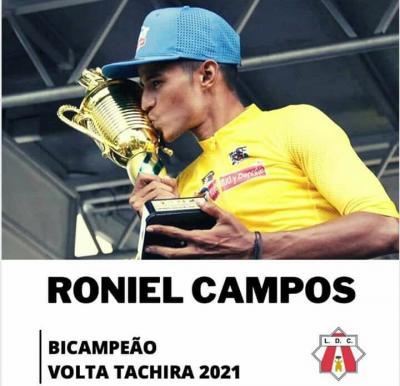 Roniel Campos ficho con equipo Continental Portugues Louletano Loulé Concelho