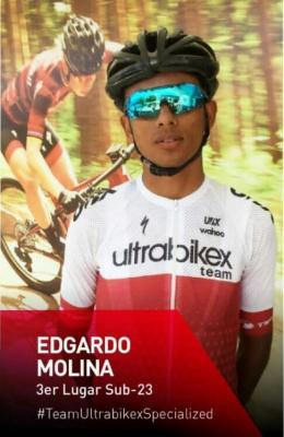 Merideño Edgardo Molina la revelación de la Vuelta al Táchira